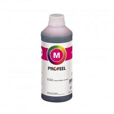 Tinta pigmentada específica para HP Officejet Pro X451DW / X476DW / X555DW | Fabricada por InkTec Co., Ltd - Korea | Marca Profeel | Frasco de 1 litro | Modelo H5971-01LM | Cor Magenta