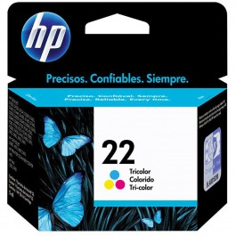 Cartucho HP 22 Color